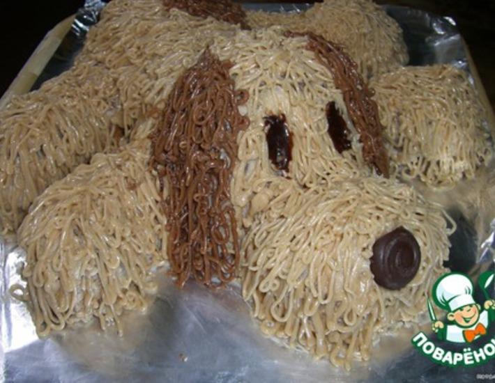 Рецепт: Торт Собачка