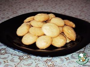 """Рецепт Взбитое печенье """"Монетки"""""""
