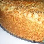 Творожно-абрикосово-маковый пирог