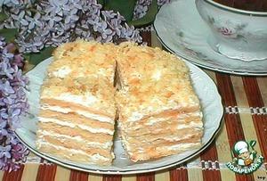 пирог почти наполеон рецепт фото