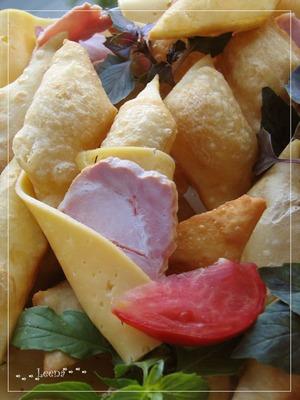"""Рецепт Итальянские соленые пончики """"Gnocco Fritto"""""""