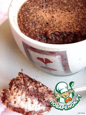 Рецепт Шоколадное суфле с кокосом