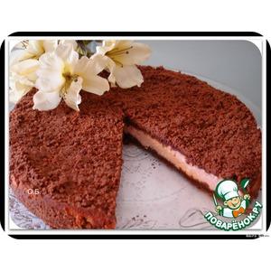 рассыпчатый пирог из творога в духовке рецепт