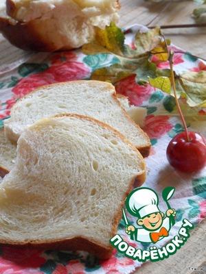 "Рецепт Молочные булочки ""Hokkaido Milk Loaf"""