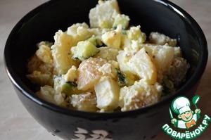 Рецепт Простецкий теплый картофельный салат