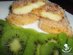 "Рецепт Десерт ""Жареное молоко"" или  Leche frita"