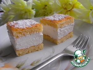 Как готовить Райские пирожные простой пошаговый рецепт приготовления с фотографиями