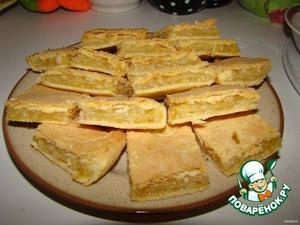 Открытый лимонный пирог из дрожжевого теста рецепт