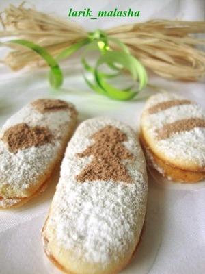 """Рецепт Бисквитное печенье """"Дамские пальчики"""""""