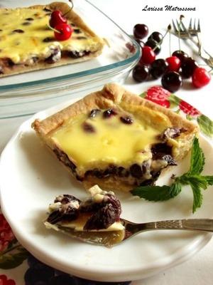 "Рецепт Вишневый пирог ""Cherry Pie"""
