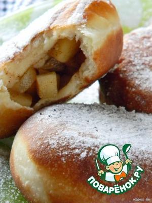 Рецепт Фруктовые пончики