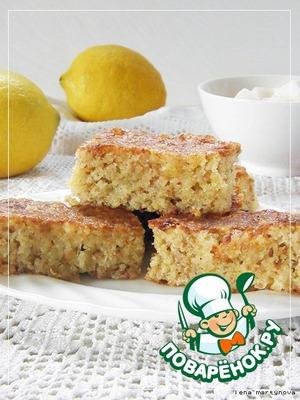 Рецепт Лимонно-изюмный пирог