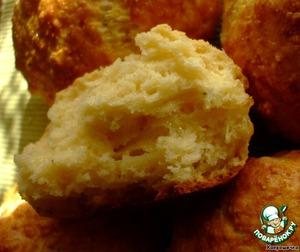 """Рецепт Булочки с сыром по мотивам """"Cheese-scones"""""""