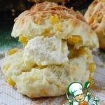 Сырные булочки со сладкой кукурузой