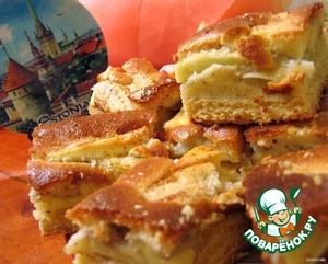 """Рецепт Эстонский пирог """"Яблочные пирожные"""""""