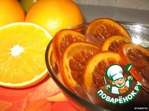 Рецепт Карамелизованный апельсин