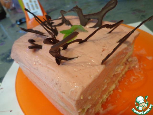 Торт с викторией рецепт с пошагово