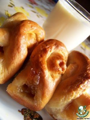 Рецепт Булочки с яблочным джемом