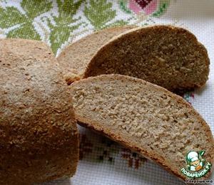 Рецепт Хлеб из ржаной муки грубого помола