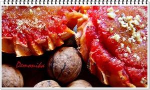 Рецепт Запечeнный грейпфрут