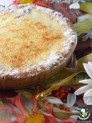 Рецепт Виноградный пирог-суфле
