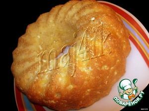 """Рецепт Сырный кекс-пирог """"Быстро и вкусно"""""""