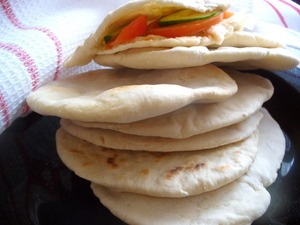 Рецепт Пита или арабский хлеб