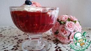 """Рецепт Десерт """"Сливы-Фламбе"""" с мороженым"""