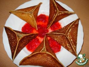 Рецепт Арабские блинчики с яблоками