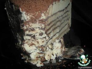 "Рецепт Миллефолье ""Крокканте семифреддо с кофе и шоколадом"""