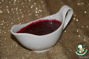 Рецепт Паннакота с вишневым соусом
