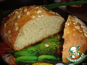 Рецепт Английский овсяный хлебушек