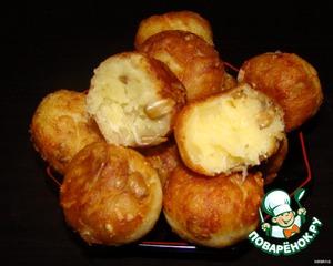 Рецепт Сырные шарики с семечками