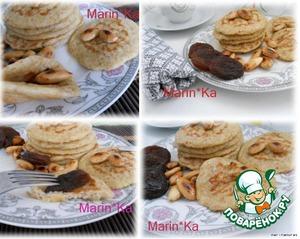 Рецепт Овсяные блинчики на завтрак