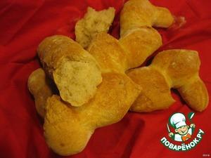 Рецепт Домашний хлеб: багет и эпи