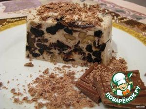 Рецепт Десерт из чернослива и ореха
