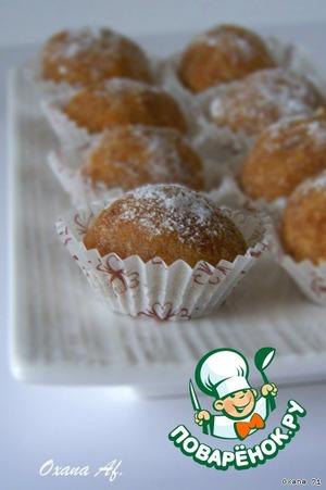 Рецепт Миндальные конфеты из апельсина и кофе