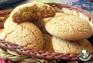 Рецепт Печенье из овсяной муки