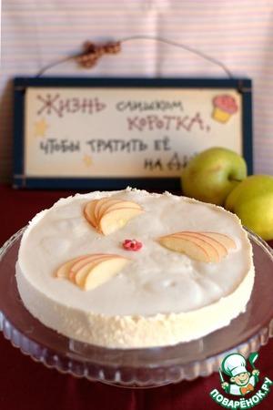 Рецепт Торт с яблоками по-нормандски
