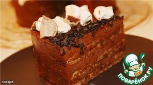 Шоколадно-ореховый торт пошаговый рецепт приготовления с фотографиями