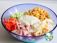 Низкокалорийная заправка для салата ингредиенты