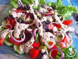 Рецепт Традиционный грузинский салат