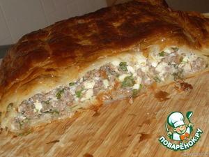 Рецепт Греческий пирог с мясом