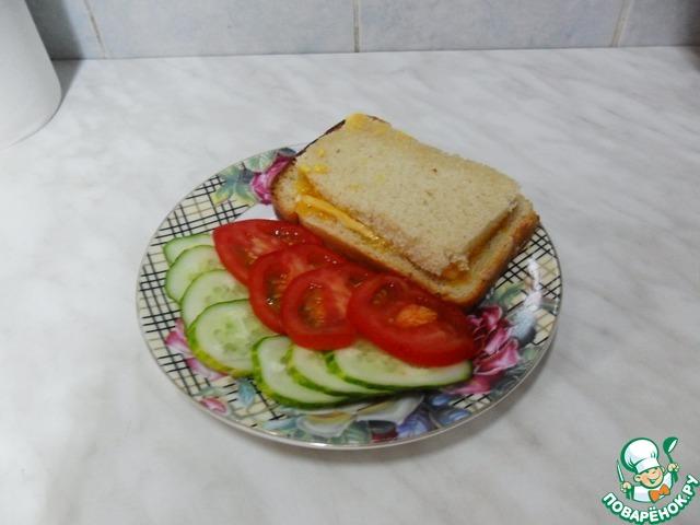 Приготовление бутербродов пошаговое с фото