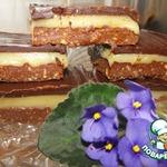 Пирожные со сливочным тоффи и шоколадом