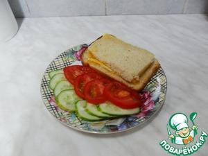 Рецепт Вкуснючий бутерброд
