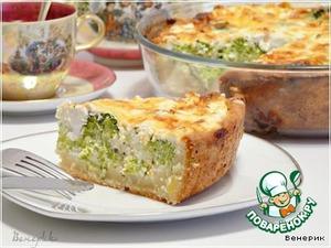 Рецепт Киш с брокколи и сыром Фета
