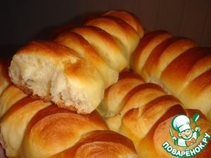 Рецепт Венский хлеб на закваске