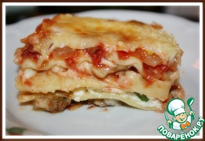 Рецепт Лазанья с итальянским фаршем
