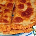 Манно-овсяные лепешки с сыром